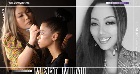 Check out our Beauty Collaborations! Meet Mimi!
