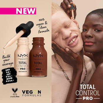 NEW Total Control Pro Foundation with models