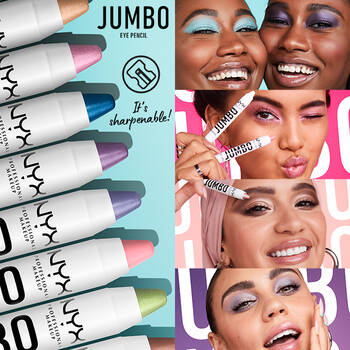 NEW! All-in-one Jumbo Eye Pencil shades.  Eye shadow. Eye liner. Primer.