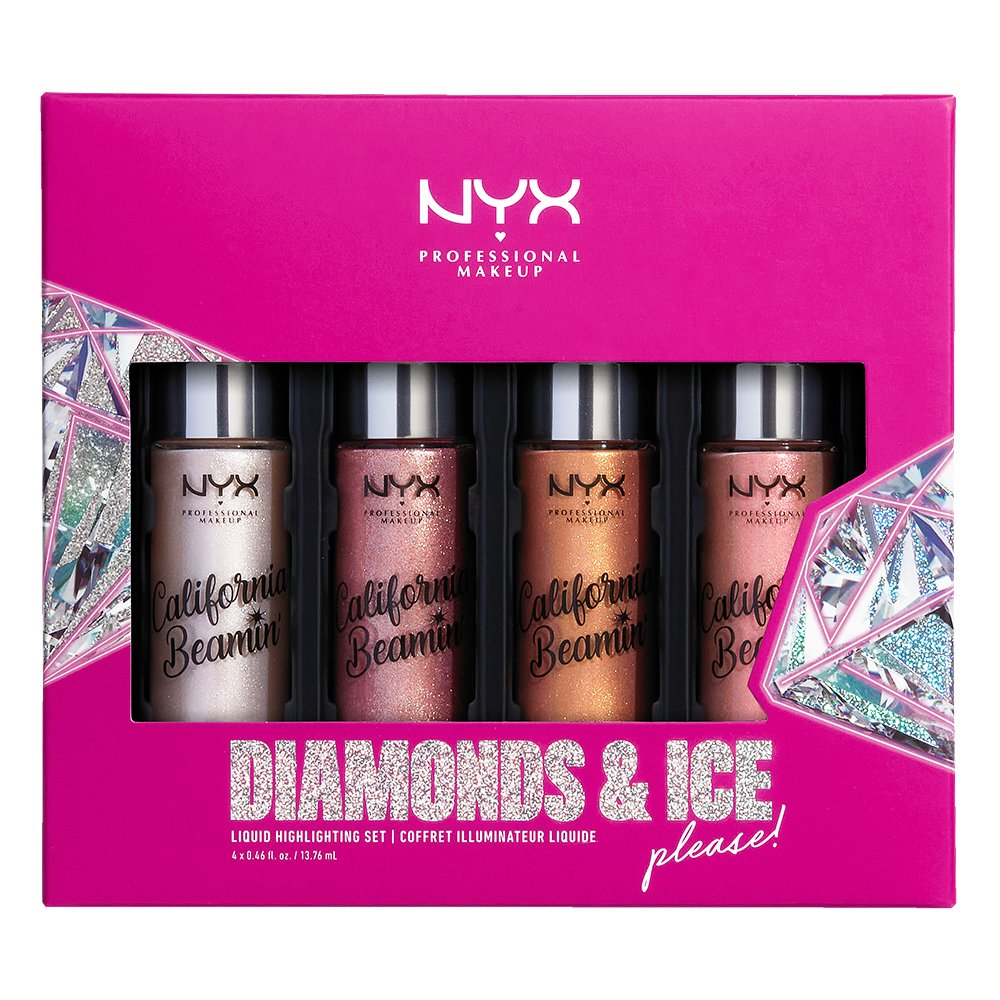 Diamonds Ice Please Shimmer Body Oil Nyx Professional Makeup