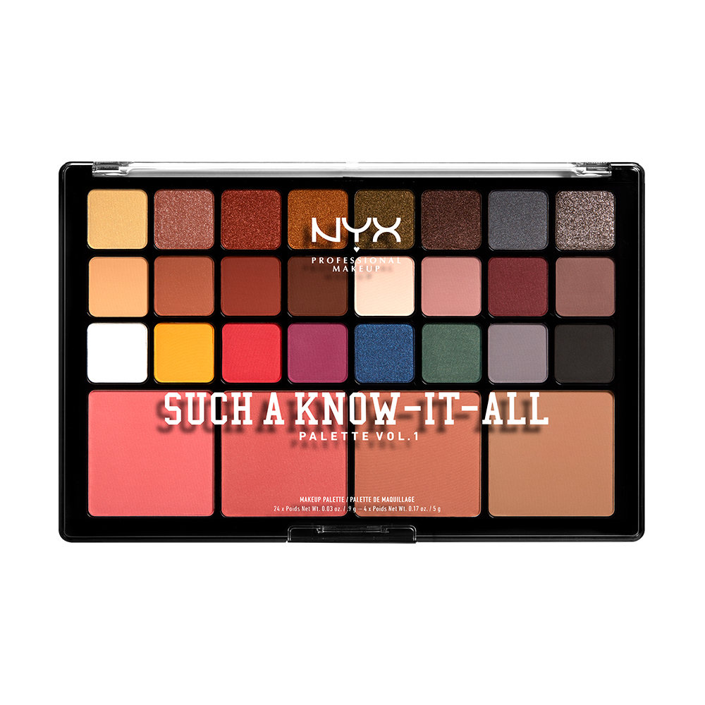 Such A Know It All Palette Vol 1 Nyx