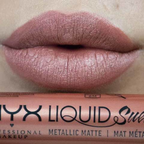 Liquid Suede Metallic Matte Page Nyx Professional Makeup